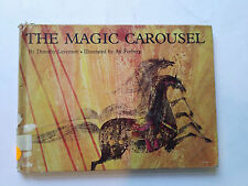 Vintage Children's Book THE MAGIC CAROUSEL Dorothy Levenson (Ex Library) HC