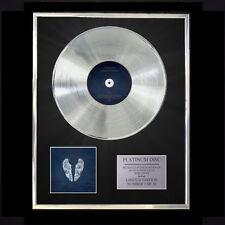 COLDPLAY GHOST STORIES  CD PLATINUM DISC FREE P+P!!