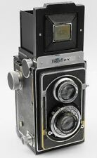Rare - Zeiss Ikon Ikoflex II 120 Film TLR Camera w/ Tessar 75mm F3.5 Lens