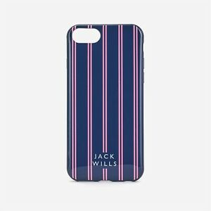 Jack Wills iPhone 6 6S 7 8 Case Unisex Phone Pattern Stripe Striped