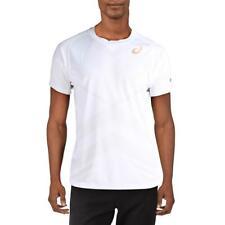Asics Mens White Fitness Workout Training T-Shirt Athletic Xl Bhfo 6077