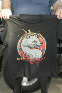 Iwrestledabearonce T Shirt  Your Might Courtney LePlante Spiritbox 2XL rare