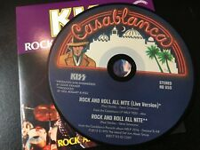 RARE CD Single  Kiss - Rock And Roll All Nite (Live)/ Rock And Roll All Nite NM