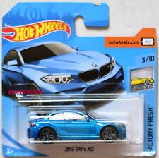 HOT WHEELS 2018 FACTORY FRESH 2016 BMW M2 #3/10 BLUE SHORT CARD