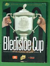 #Kk. Rugby Union Program - 26/6 2003, Australia v New Zealand Bledisloe Cup
