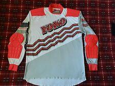 vtg 80s 90s Motocross Jersey Yoko Race wear XL padded retro dirt bike gear 50/50