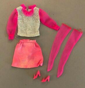 #1866 Movie Groovie 1969 mod vintage Barbie doll outfit