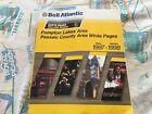 Bell Atlantic Telephone Book Pompton Lakes Passaic County NJ - 1997-1998