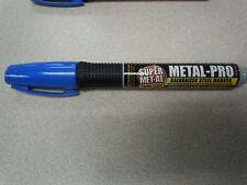 SUPER METAL-PRO GALVANIZED STEEL MARKER 04042 INDUSTRIAL GRADE -BLUE