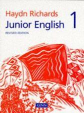 Junior English Revised Edition 1: Bk. 1 (HAYDN... by Richards, W.Haydn Paperback
