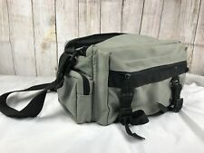 Camera Bag Film Video Nikon Canon Kodak Vintage with Strap - Cream