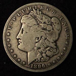 1896-S $1 MORGAN SILVER DOLLAR SAN FRANCISCO MINT US TYPE COIN