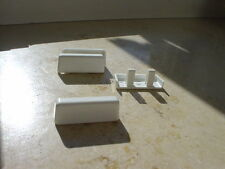 10 Stück Gluske Wasserschlitzkappen, weiß