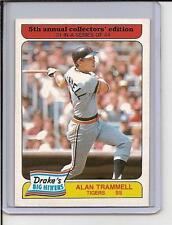 1985 Drakes Big Hitters #31 - Alan Trammell - Tigers