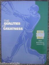 1997 Topps Stadium Club Baseball Series 1 Advertising Folder - Derek Jeter