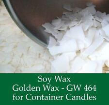 Container & tea light candle making bulk 4.5kg Natural Soy Wax & 10 dye chips