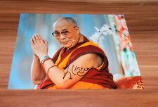 Dalai Lama, original signiertes/signed Foto/Photo in 20x25 cm (8x10 Inch KH)