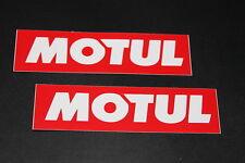 Motul Oil Huile Lubricant Autocollant Sticker Décalque Adhésif Logo Lettrage Moto Klein