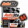 Autolite AR3923 High Performance Racing Resistor Spark Plug - Set of 4