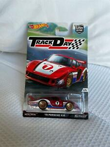 Hot Wheels Car Culture Track Day '78 Porsche 935 #2/5 Real Riders Z1