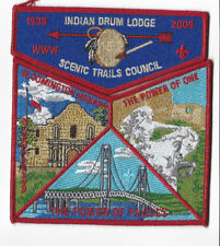 OA Lodge 152 Indian Drum The Power Of Places Scenic Trails Council  [WWW218]