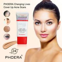 PHOERA LONG LASTING FLAWLESS VELVETY STAY MATTE LIQUID FOUNDATION OIL CONTROL