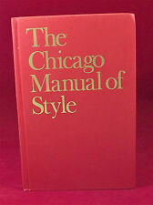 The Chicago Manual of Style 14th Edition Hardcover 1993