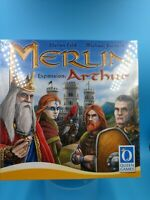 jeu de societe carte plateau figurine merlin expansion arthur neuf VF UK NOE