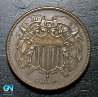 1864 2 Cent Piece  --  MAKE US AN OFFER!  #B2964