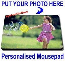 PERSONALISED MOUSEPAD MOUSE PAD PHOTO - Valentine Birthday New Year DIWALI GIFT