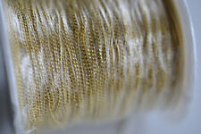 92m Roll - Gold Plated Curb Link - jewellery Making Necklace Chain   (S109)