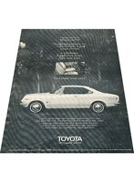 1970 Toyota Corona Hardtop  - Vintage Advertisement Car Print Ad J408