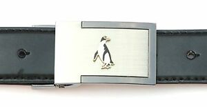 Penguin Enamel Belt Buckle and Leather Belt in Gift Tin Ideal Wildlife Gift 265