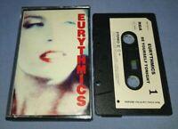 EURYTHMICS BE YOURSELF TONIGHT PAPER LABELS cassette tape album T7187
