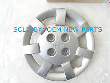 "(LOT OF 4) 2000 2001 2002 KIA Rio 13"" inch HubCap Wheel Cover SILVER 0K30D37170"
