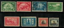 United States #614-621 Complete Set 1924-25 Mlh/Used(616)