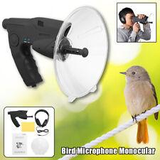 Parabolic Microphone Monocular X8 Ear Sound Long Range Birds Listening 200M