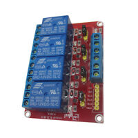 New 12V 4CH Relay Board Module for Arduino Raspberry Pi ARM AVR DSP PIC