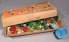 Garland Electric Christmas Light Russian Old Vintage Soviet New Year Ornament