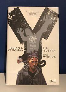 Y THE LAST MAN Vol 1 HARDCOVER DC Vertigo BRIAN VAUGHAN