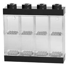 LEGO Storage - 8 Minifigure Display Case - Black Small