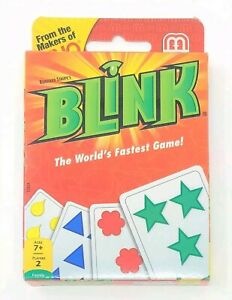 Mattel Uno BLINK Family Card Game The World's Fastest Games