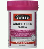 Swisse Ultiboost Grape Seed 12,000mg 60 Tablets - OzHealthExperts
