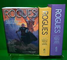 Signed x 22 ROGUES George RR Martin Neil Gaiman Subterranean Press #06 /500