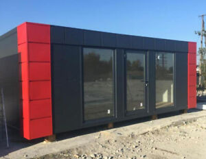 NEW Portable cabin/office/Retail/Residential container/Pavilion 6x2,5m