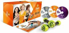 Zumba Gold Live It Up System with Weights, DVDs, and Wellness Guide - Nice!
