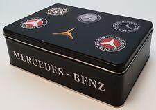 Nostalgic Art Dose Mercedes Benz Kaffeedose Keksdose Vorratsdose Blechdose Can