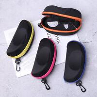 Outdoor Holder Glasses Case Eyewear Protector Hard Eye Glasses Zipper Box