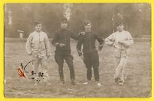 cpa France Carte Photo de 1914 MILITAIRES SOLDATS CAPORAUX du 31e Régiment
