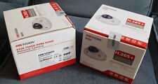 2x Hikvision DS-2CD2563G0-IS 6MP 2.8mm Mini Dome Mic Alarm Camera